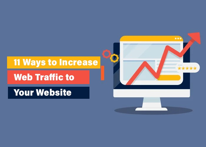 11 Ways to Increase Web Traffic to Your Website | generate organic traffic on website - acme infolabs