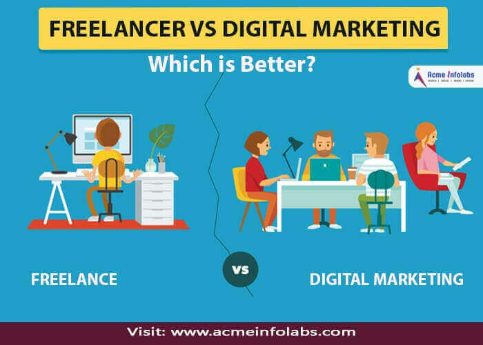 Agency vs SEO Freelancer - benefits, importance - acmeinfolabs